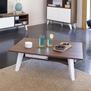 Table scandinave achat vente table scandinave pas cher for Table basse scandinave noyer