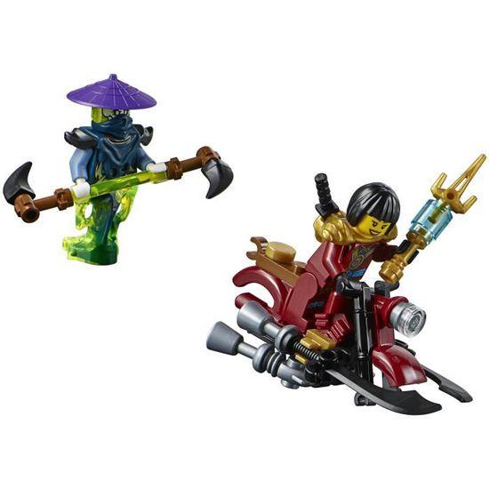 Lego Ninjago maître wu avec arme figurine figure de jeu 70738