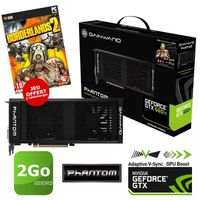 CARTE GRAPHIQUE Gainward GTX660 Ti 2Go GDDR5 Phantom