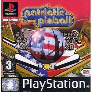 CONSOLE PS1 PATRIOTIC PINBALL