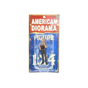 FIGURINE - PERSONNAGE Figurine Miniature 1:24 POLICE OFFICER JAKE (FIGUR