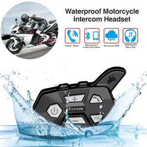 INTERCOM MOTO Casque Moto Bluetooth Intercom de Cavalier pour Mo