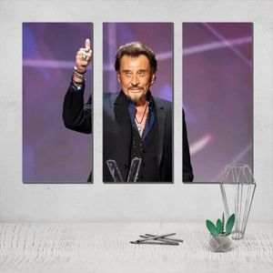 TOILE Posters  Johnny Hallyday Canvas Poster Painting Ph