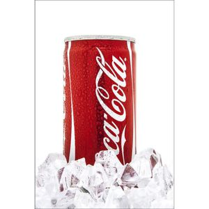 deco coca cola achat vente deco coca cola pas cher cdiscount. Black Bedroom Furniture Sets. Home Design Ideas