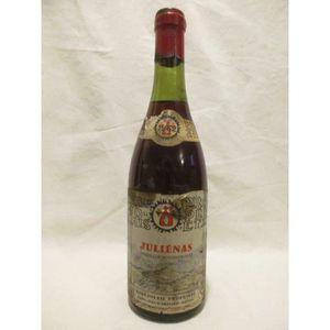 VIN ROUGE juliénas propriété rouge 1962 - beaujolais france