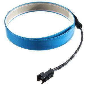 BANDE - RUBAN LED 1M Fil Neon EL Cable Tube LED avec Boite de Pile G