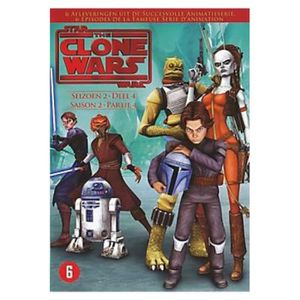 DVD DESSIN ANIMÉ DVD Star wars The clone wars Saison 2 Partie 4