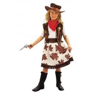costume enfant fille cow girl taille 7 9 ans et 10 12 ans l 130 140 cm achat vente. Black Bedroom Furniture Sets. Home Design Ideas
