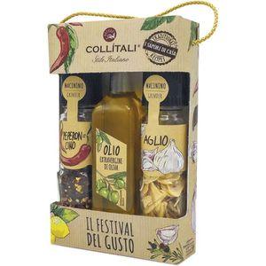 AUTRES SAUCES FROIDES COLLITALI TRIO 3 condiments PASTA : 1 bouteille HO