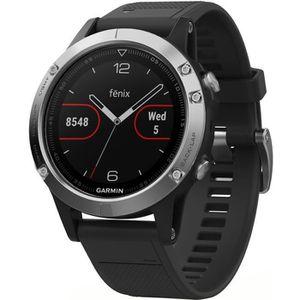 Montre connectée sport GARMIN Fenix 5 Silver Montre connectée GPS cardio