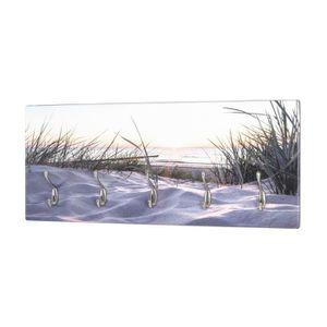 PATÈRE Patère murale, MDF, Imprimé par UV , 5 Crochets, 7