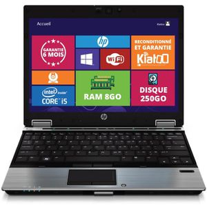 ORDINATEUR PORTABLE ORDINATEUR PORTABLE HP ELITEBOOK 2540 ULTRABOOK IN