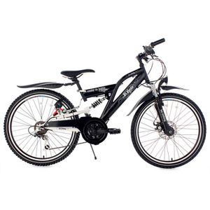 VTT Vélo junior 24'' B-Boy noir TC 36 cm KS Cycling