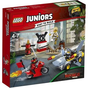 ASSEMBLAGE CONSTRUCTION LEGO® Juniors 10739 L'Attaque du Requin Ninjago Mo