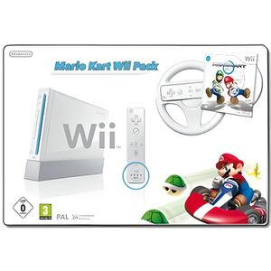 CONSOLE WII Nintendo Wii - Mario Kart Wii Pack - console de j…