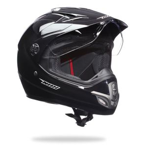 casque moto cross avec visiere achat vente casque moto cross avec visiere pas cher cdiscount. Black Bedroom Furniture Sets. Home Design Ideas