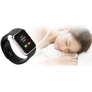 MONTRE CONNECTÉE OOBEST® Bluetooth GT08 Montre-Bracelet Argenté Int