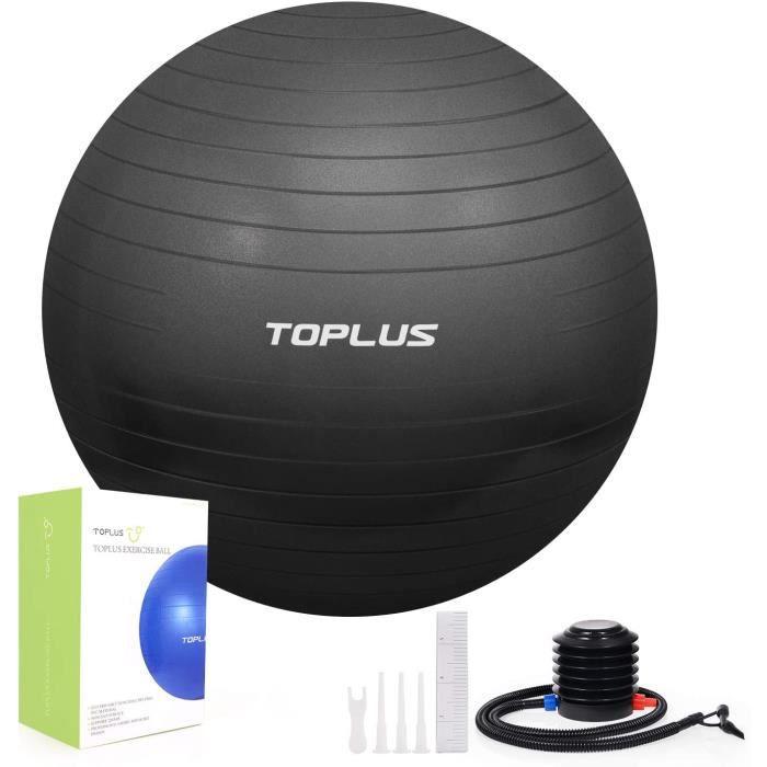 ADORIC Ballon de gymnastique rythmique, Anti-éclatement et très épais, 75 * 75cm, pour Le Yoga, Le Pilates, Le Fitness