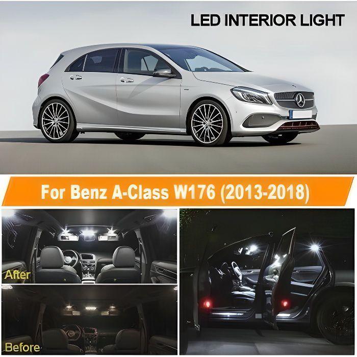 Pack Ampoules LED pour Mercedes Benz classe A W176 éclairage intérieur Blanc