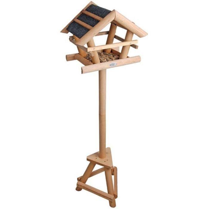 P186 Mangeoire pour oiseaux avec toit bitume Esschert Design FB255