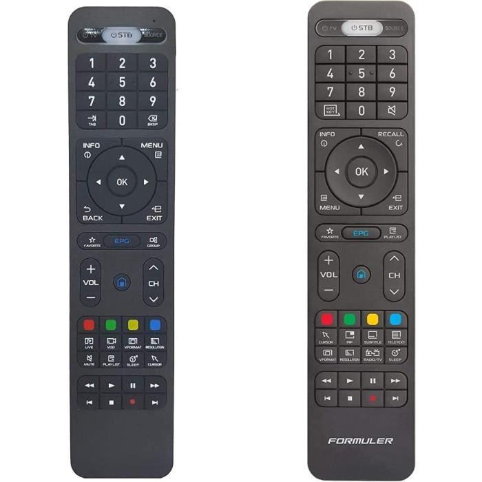 Télécommande d'origine pour formuler IPTV-Formuler Z Formuler IPTV - Z7+ - Z7+ 5G - ZX-ZX 5G - Z Prime & Télécommande d'origin[1274]