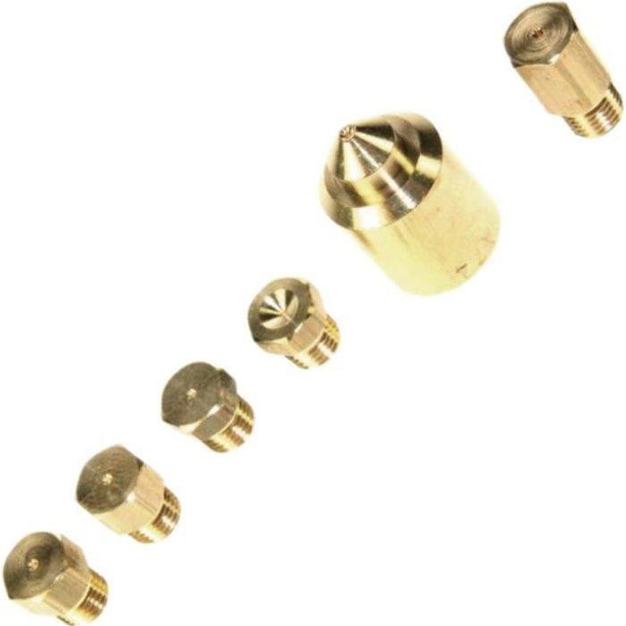 Sachet injecteurs gaz butane/propane - Four, cuisinière - DE DIETRICH, SAUTER (23597)