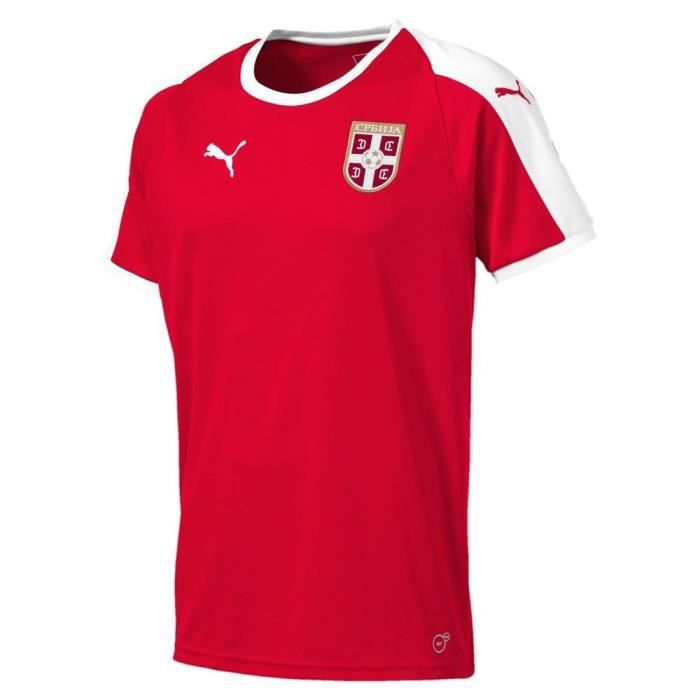 Equipement officiel Football Puma Serbia Home Replica 2018