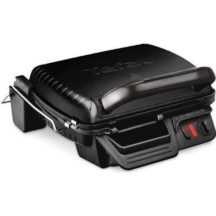 Tefal Grill compact 3 en 1 12 2000 W Noir - GC3088