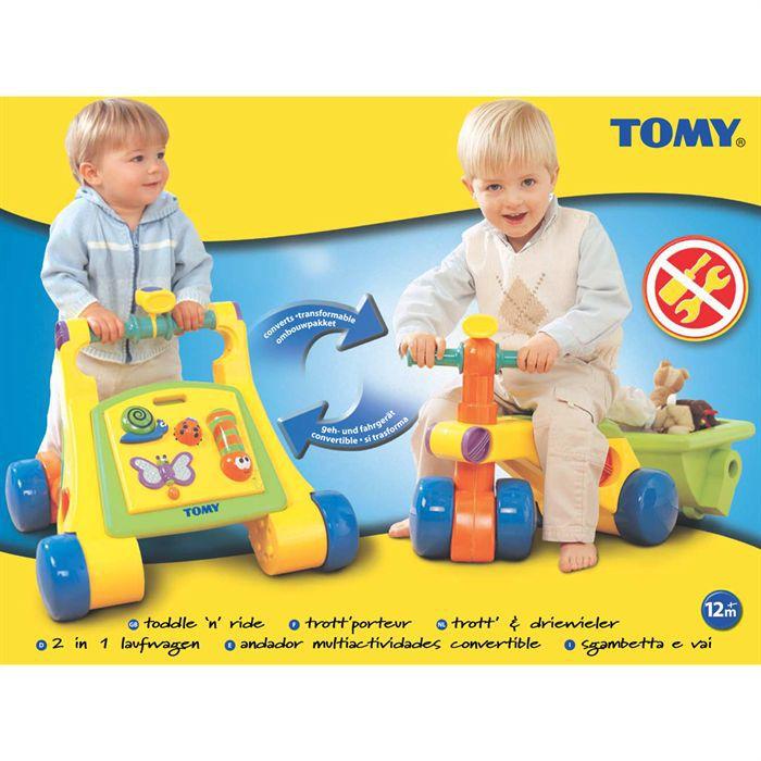 TOMY Trott'porteur 2 en 1