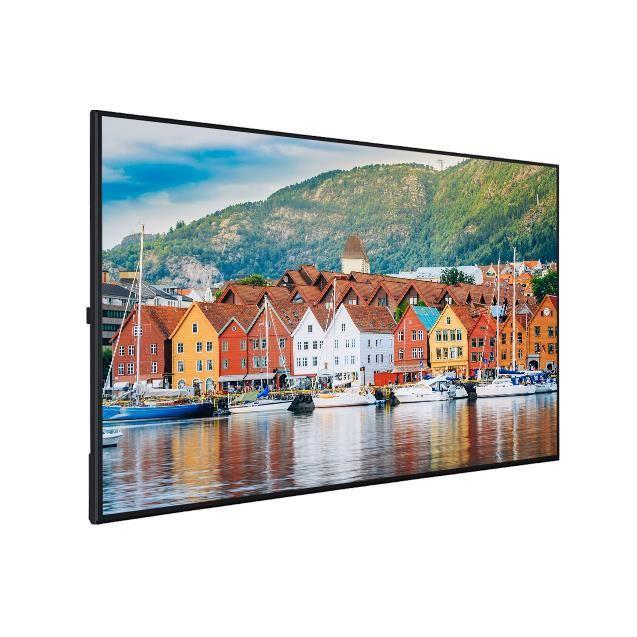 Moniteur très léger 65- VESTEL 24/7j D-LED, UHD, 400cd/m², faible consommation. PDU65UF82
