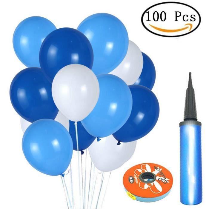 Ballon Anniversaire Bleu Achat Vente Pas Cher