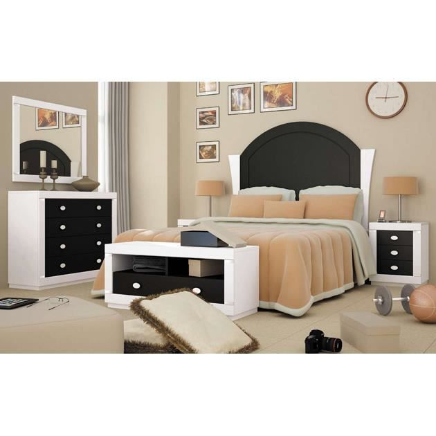t te de lit en bois mod le lady achat vente t te de lit soldes d s le 9 janvier. Black Bedroom Furniture Sets. Home Design Ideas