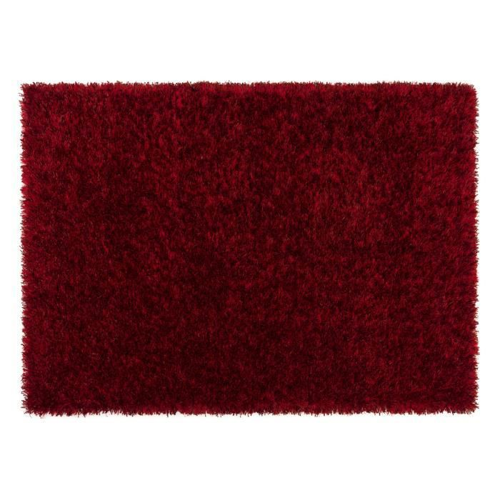 Tapis salon feeling trend rouge achat vente tapis cdiscount - Cdiscount tapis salon ...