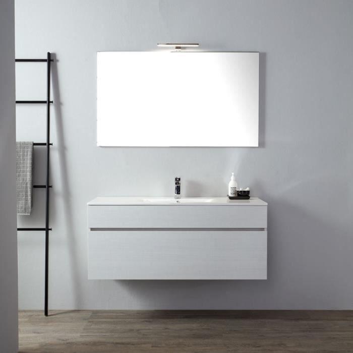 Meuble de salle de bain moderne gris