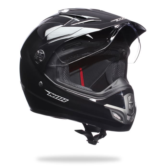 nox casque cross integral n739 noir achat vente casque moto scooter nox casque cross. Black Bedroom Furniture Sets. Home Design Ideas