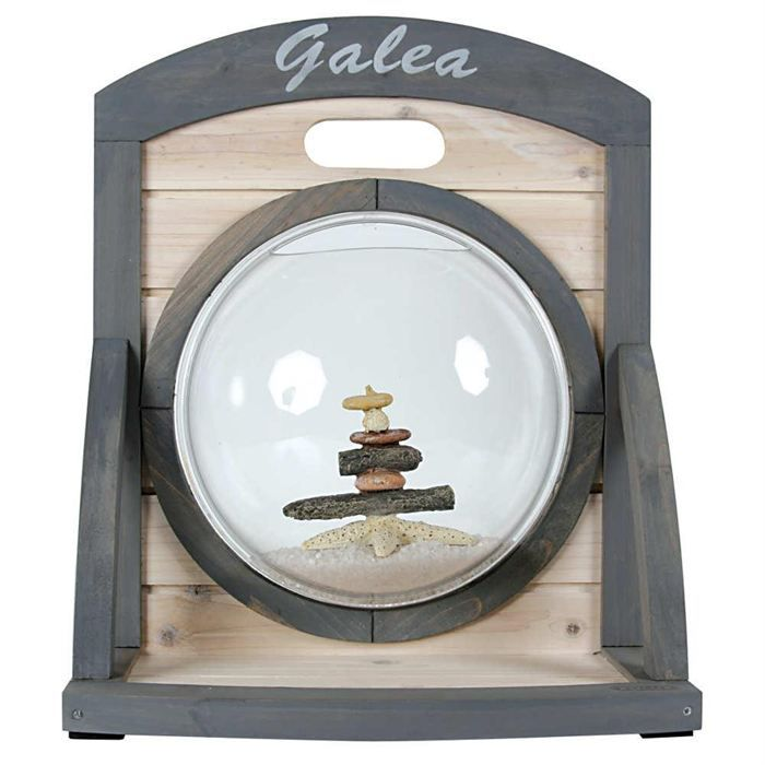 Aquarium deco galea a poser achat vente aquarium for Grand aquarium rond