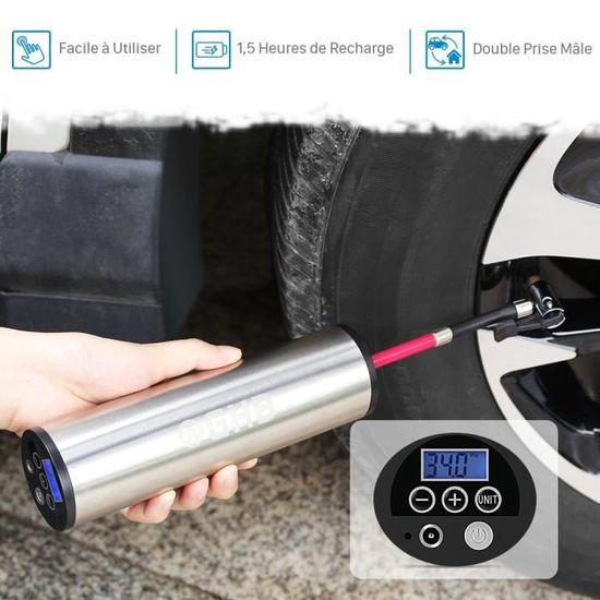 Xiaomi Pompe /à air /électrique Mijia Gonfleur Rechargeable 150 psi D/étection de Pression des pneus num/érique Intelligente pour Ballon de Football Voiture Moto
