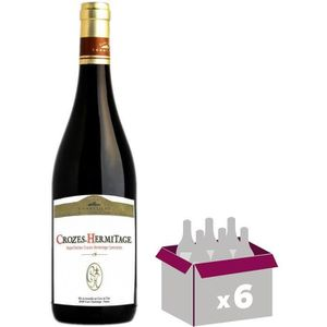 VIN ROUGE Crozes Hermitage Vallée du Rhône - Vin rouge - Clu
