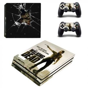 STICKER - SKIN CONSOLE Version YSP4P-0550 - The Walking Dead Ps4 Pro Peau