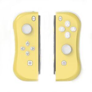 MANETTE JEUX VIDÉO Console Joy-con Contrôleurs de jeu Jaune pour Nint