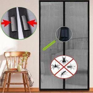 Moustiquaire porte Insectifuge Réparation Bande Imperméable Moustique Écran Housse