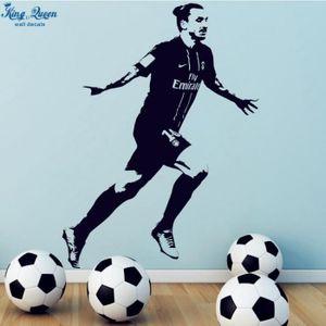 STICKERS Affiche Zlatan Ibrahimovic Psg Football Vinyle Sti