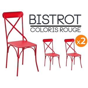 lot chaises bistrot achat vente lot chaises bistrot. Black Bedroom Furniture Sets. Home Design Ideas