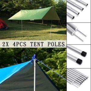 Piquets de Tente Tige de Poteau de Tente de Fibre de Verre pour Le Camping Randonn/ée Hamacs Abris Auvents