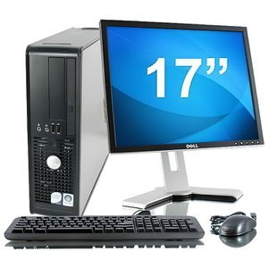 ORDINATEUR TOUT-EN-UN Lot PC DELL Optiplex 780 SFF Core 2 Duo E7500 2.9G