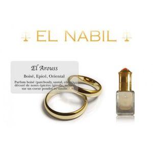 EAU DE PARFUM Pack de 12 EL NABIL 5ml Musc El Arouss 100% huile