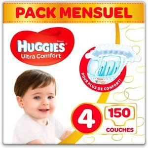 COUCHE HUGGIES Ultra Comfort - Couches Bébé Unisexe x150