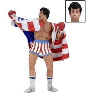 FIGURINE - PERSONNAGE Neca - Figurine Rocky IV 40th Anniv. - Rocky Balbo