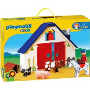 UNIVERS MINIATURE PLAYMOBIL 1.2.3. Ferme