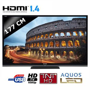 "TELEVISEUR LED 70"" SHARP 70LE740 TV LED 3D"